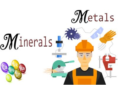 Metal, Alloys & Minerals