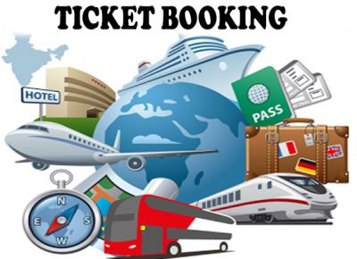 Ticket Booking (flights / Bus / Train)